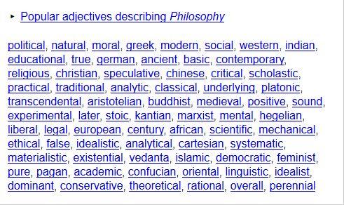 http://www.onelook.com/?w=Philosophy&ls=a