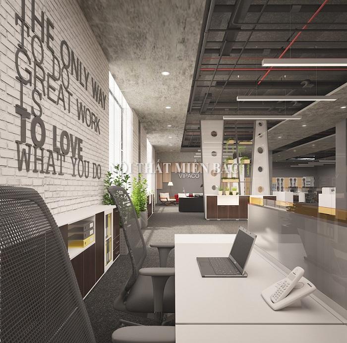 Thiết kế nội thất phòng làm việc đẹp bố trí nội thất khoa học chuyên nghiệp