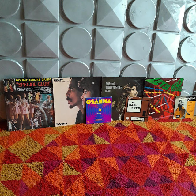 "Delirium 1971 ,  the Mar-Keys 1962 , Ike and Tina Turner ,   Let' s go a gogo 1966 , Special Club ""double loisirs danse"" 1968 so fine twen"