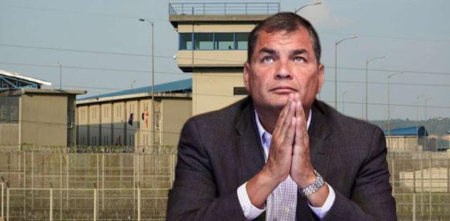 Rafael Correa podría terminar en la cárcel: noticia del día