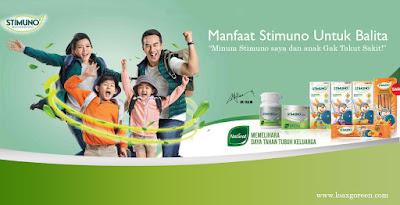 Stimuno untuk balita agar daya tahan tubuh ok