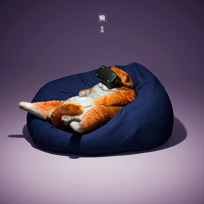 Lazy things  Illustrations by Guodong Zhao c581a3c93a5