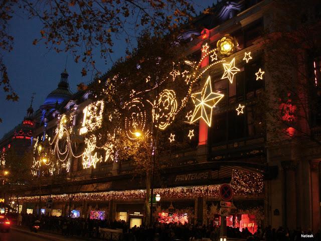 150 eme anniversaire  Illuminations de Noël du Printemps 2015