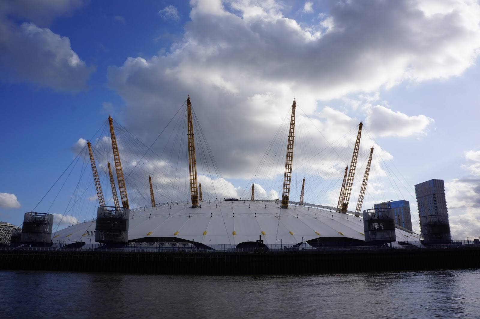 the o2 from the river