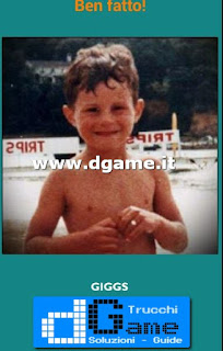 Soluzioni Guess the child footballer livello 28
