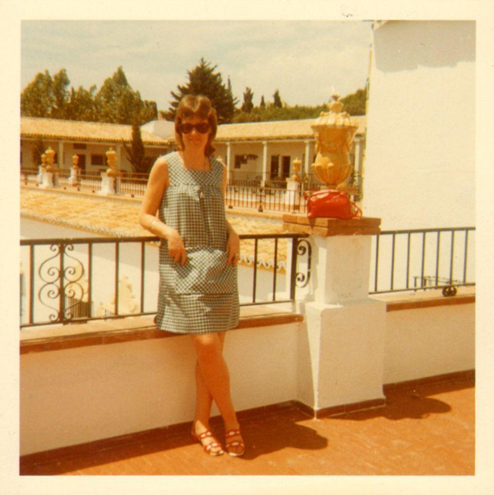 Old polaroid wife pics
