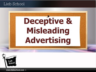 Lieb School Free CE | Deceptive & Misleading Advertising | 3 Credits | Southampton