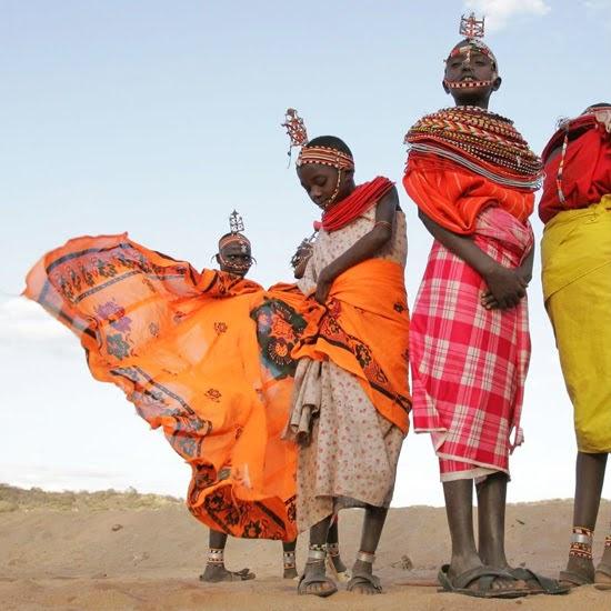 Safari Fusion blog | African colour | Colourful shukas of the Samburu, Kenya