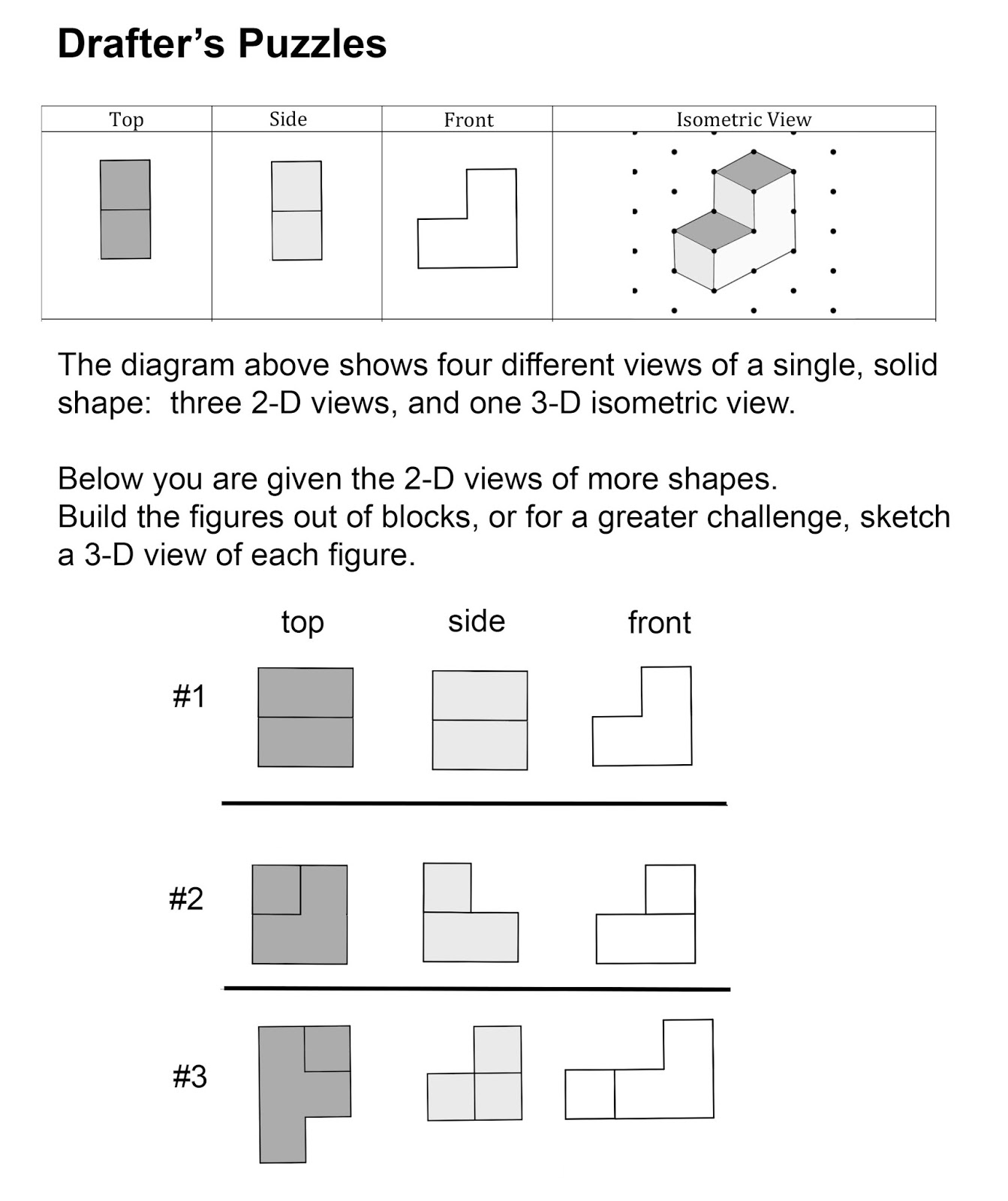 Math Problems Drafter S Puzzles
