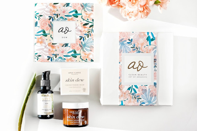 Art of Organics April DEW Box