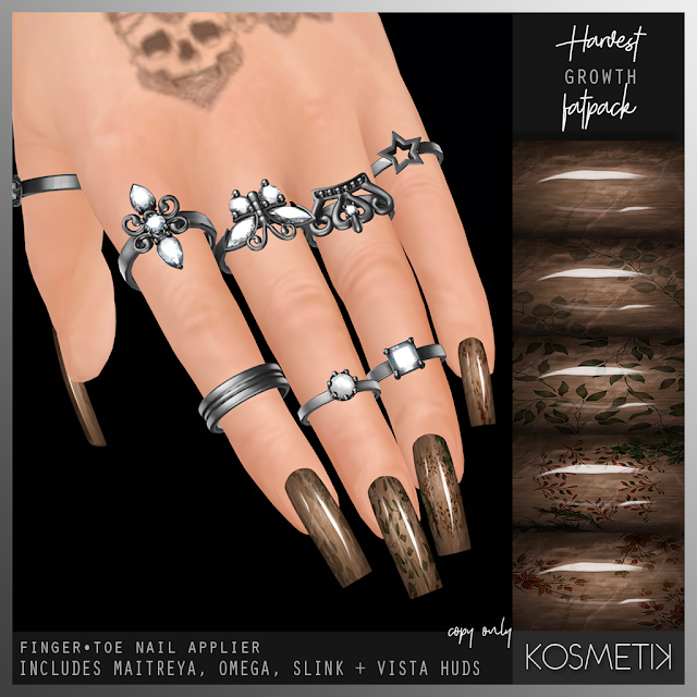 .kosmetik Harvest Growth Nails