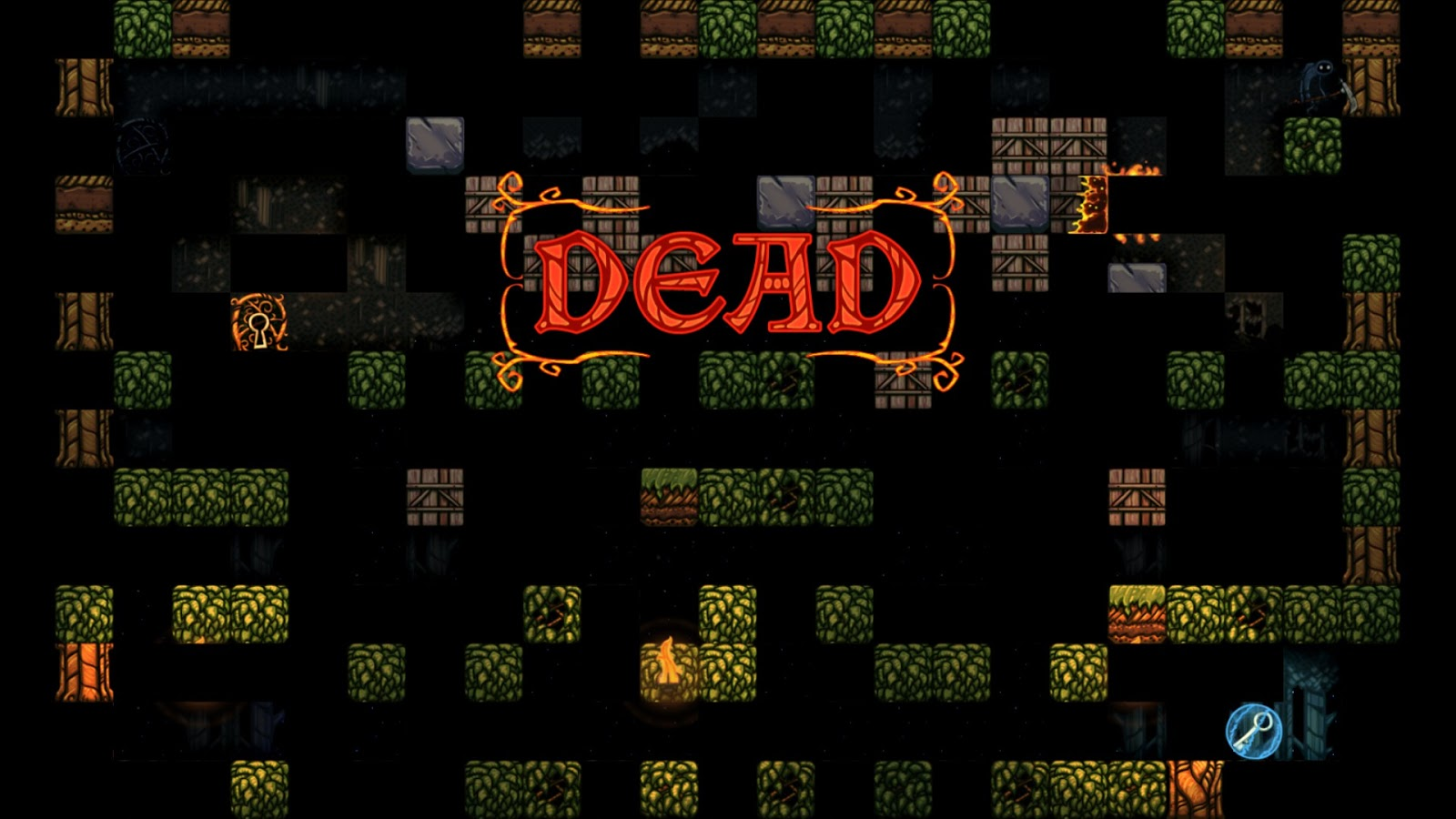 Escape Goat 2 'Dead' screen