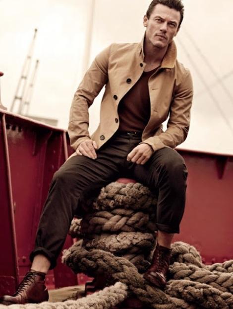 Luke Evans by John Balsom for Man of The World No.4