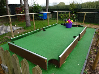 Foot Pool at Krazy Golf Lydney in the Forest of Dean