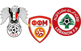 Macedonia to face Syria and Lebanon in friendlies