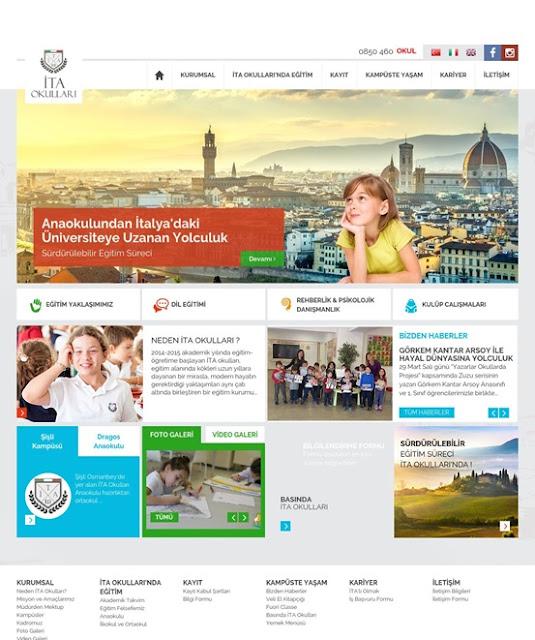 İtalyan Okulları Web Sitesi