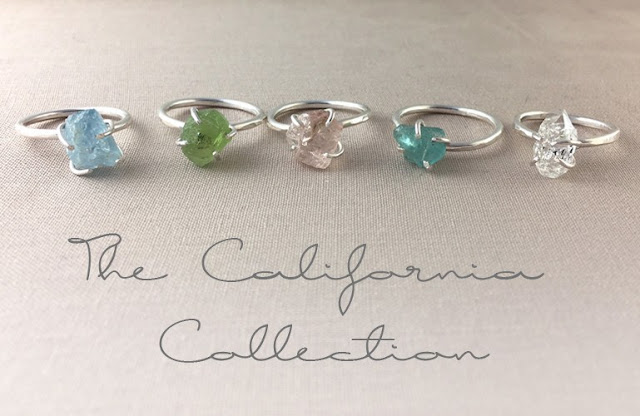 jewelry design, rings, Lemesto, California Collection, Arielle Rassel