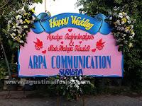 Bunga Papan Pernikahan Mojokerto
