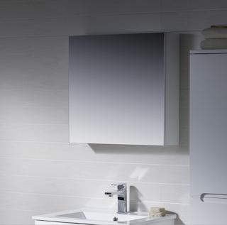 Frameless Mirror Cabinet