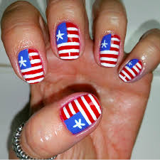 best 4th of july nail art