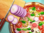 لعبة طبخ بيتزا حقيقية