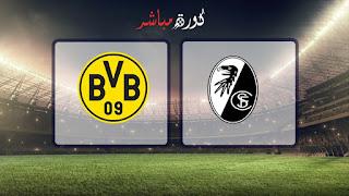 مشاهدة مباراة بوروسيا دورتموند وفرايبورج بث مباشر 21-04-2019 الدوري الالماني