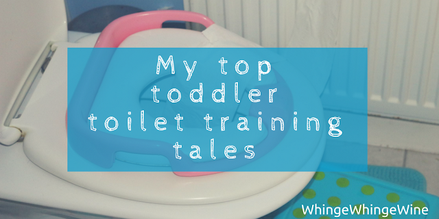 My top toddler toilet training tales with Hotter shoes review