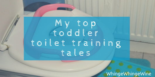 My top toddler toilet training tales