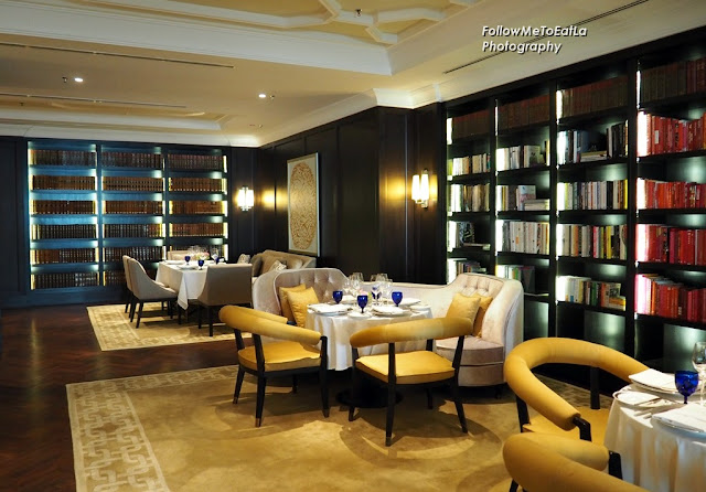 Dining At THE LIBRARY at The Ritz-Carlton, Kuala Lumpur