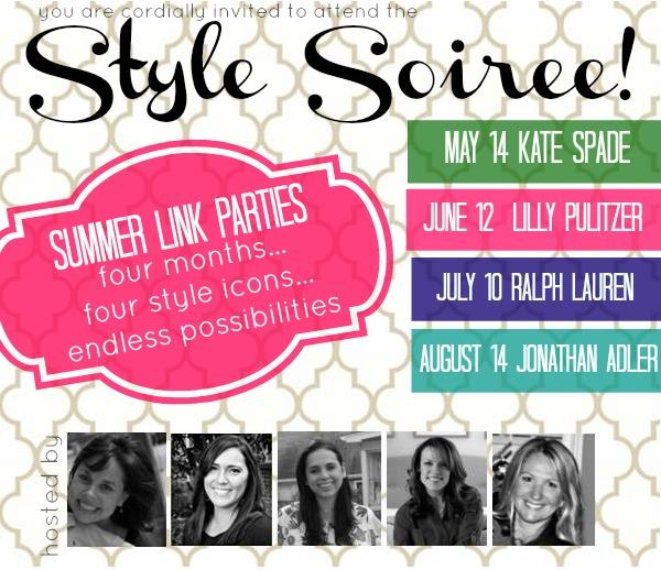 Summer Soiree Style Series: Kate Spade, Lilly Pulitzer, Ralph Lauren, Jonathan Adler {rainonatinroof.com} #style #soiree #katespade #lillypulitzer #ralphlauren #jonathanadler