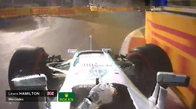 Balapan GP F1 Sirkuit Baku : Hamilton Start 10, Rosberg Tetap Tertekan