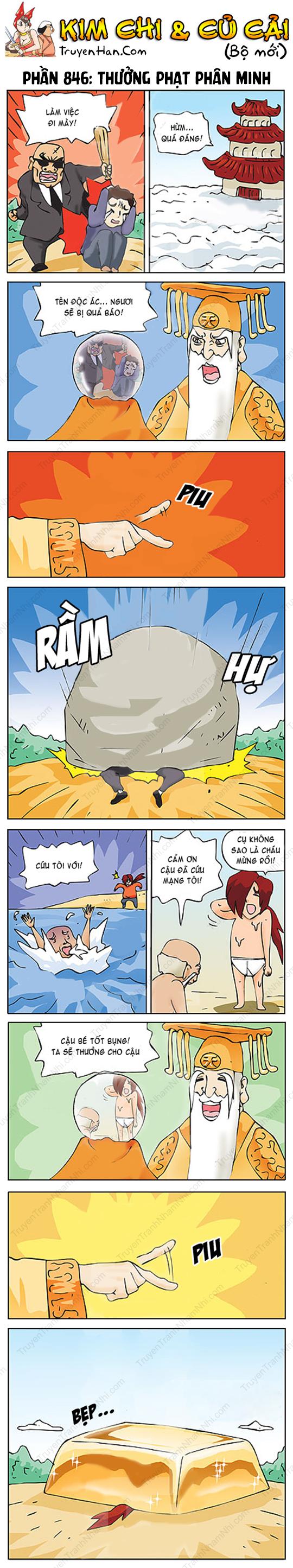 Kim Chi & Củ Cải (bộ mới) phần 846: Thưởng phạt phân minh