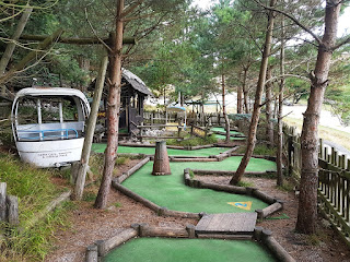 Alpine Adventure Golf course at Llandudno Ski Centre