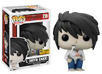 Funko Pop! L with Cake