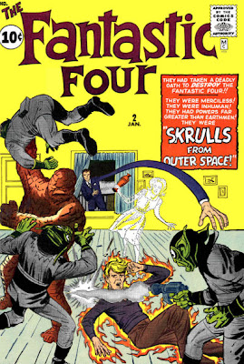 Fantastic Four #2, Skrulls first appearance
