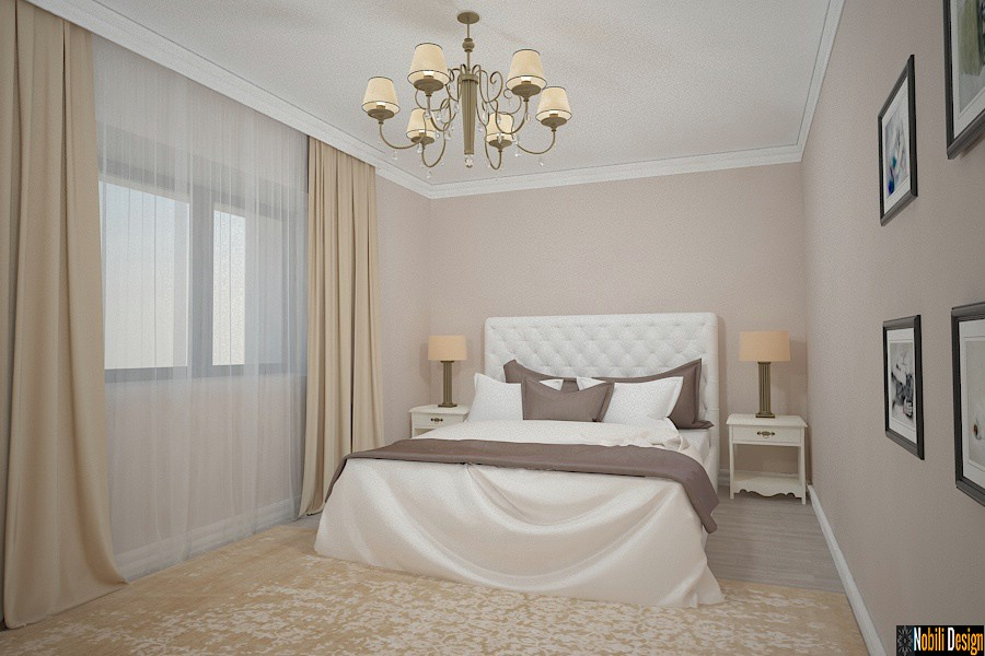 Interior design classic bedroom luxury house, paris, london, monte carlo, monaco, sofia, bucharest.