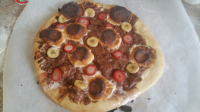 Nutella Desert Pizza