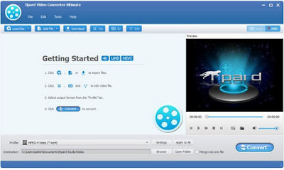 Free Download Tipard Video Converter Ultimate 9.0.30 Full Patch
