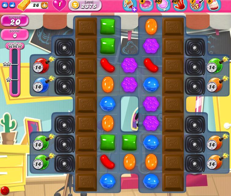 Candy Crush Saga level 2375
