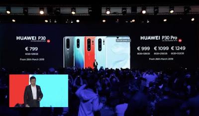 Huawei P30 aur P30 Pro Phone Ka Price