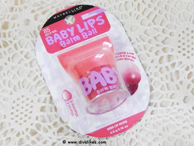 Maybelline Baby Lips Balm Ball Kiss Of Rose Review