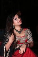 Sirisha Dasari in Red Ghagra Backless Choli ~  051.JPG