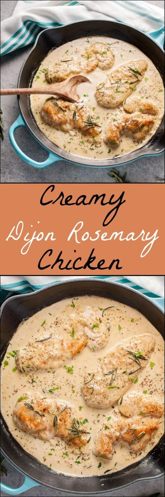 Creamy Dijon Rosemary Chicken