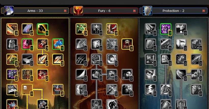 Guide PVP ARMS Warrior Talent Build wow Cataclysm 4 3 4|WoW - Best