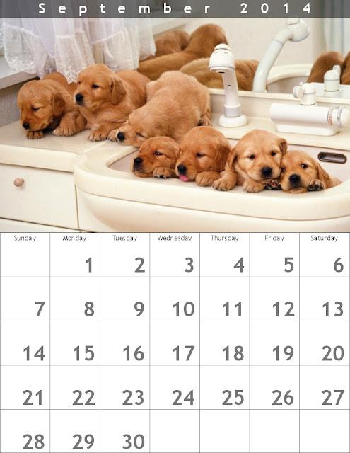 Calendario Septiembre 2014 - Crear un Calendario en línea