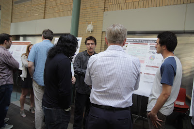 Kyle and Gabe at RISS poster session.