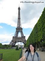 Torre Eiffel desde los Campos de Marte