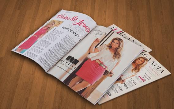 Nítido é capa da Revista Ellegância