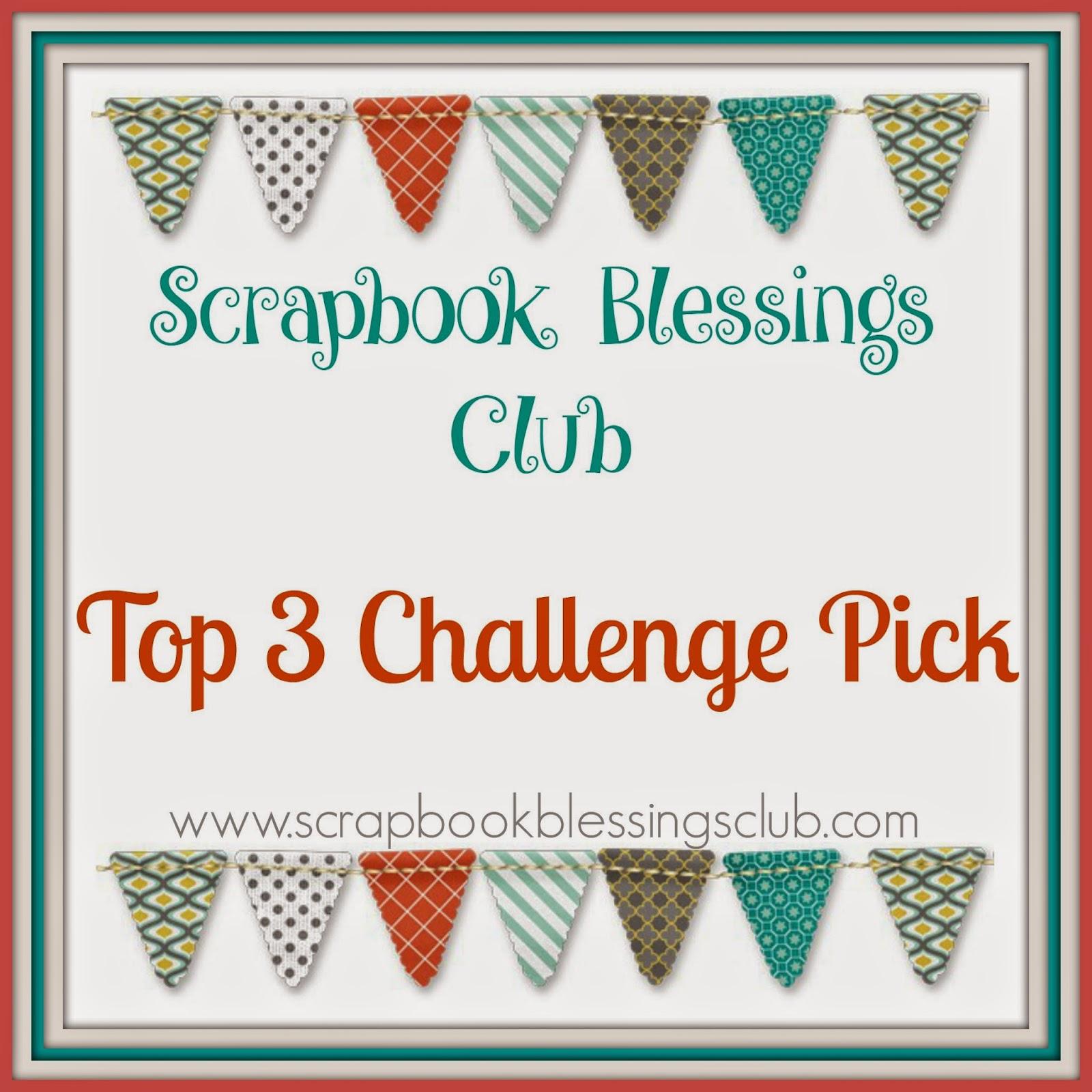 Top 10 Scrapbook Blessings Club