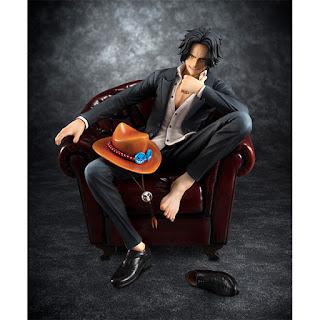 Excellent Model P.O.P. Portgas D. Ace (S.I.C.) de One Piece - Megahouse